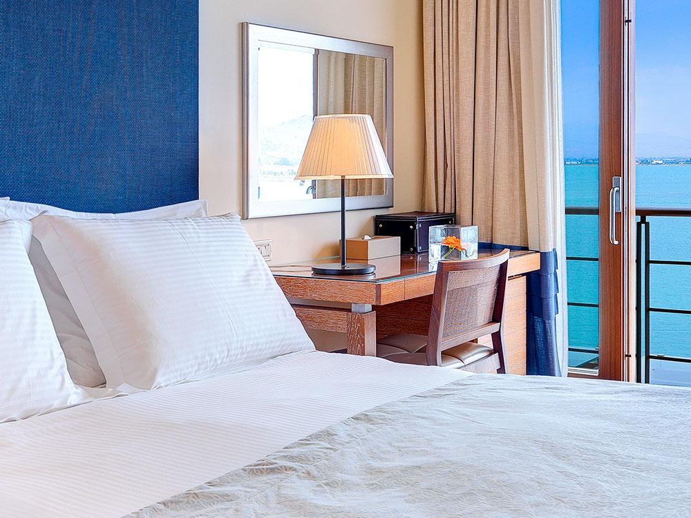 Sea View Luxury Amphitryon Hotel in Greece