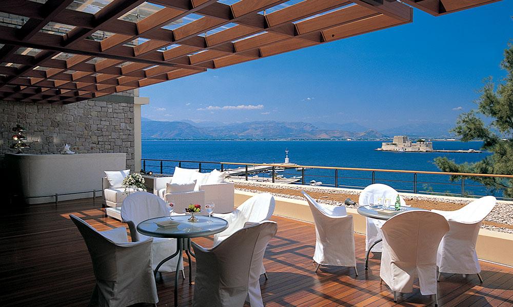 Circle Terrace – Sea View – Outdoor Bar
